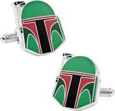 Cufflinks Inc. Men's Star Wars Boba Fett Helmet Cufflinks