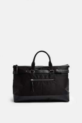 Topshop Womens Smart Weekender Bag In Black - Black