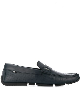 Bally Perforated Detail Loafers