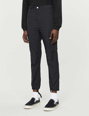 Carhartt Wip Dakota tapered high-rise cotton-blend trousers
