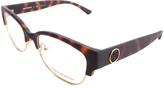 Tory Burch Tortoise Browline Eyeglasses