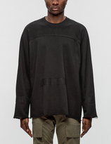 Stampd Washed Down L/S Crewneck Sweatshirt