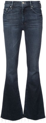Mother Flared Mid-Rise Jeans
