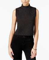 Bar III Striped Sleeveless Sweater, Only at Macy's