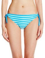 Next Women's Barre To The Beach Tubular Tunnel Side Bikini Bottom with UPF 50