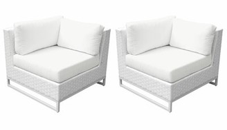 Menifee Patio Chair with Cushions Sol 72 Outdoor Color: Sail White