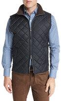 Peter Millar Hudson Lightweight Quilted Vest, Black