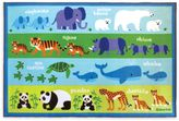 Olive Kids Olive KidsTM 3-Foot x 5-Foot Endangered Animals Accent Rug in Green