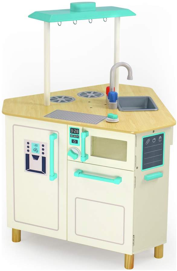 Chad Valley Wooden Triangle Island Play Kitchen