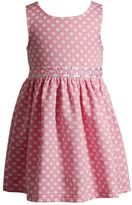 Youngland Baby Girl Dot Textured Dress