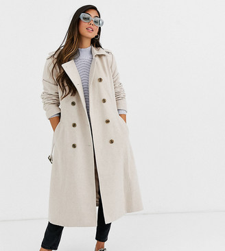 Y.A.S Petite double breasted military coat