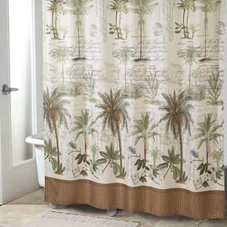 Avanti Colony Palm Shower Curtain