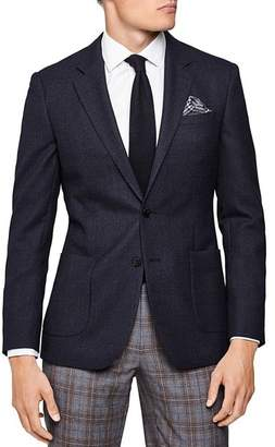 Reiss Vine Textured Slim Fit Blazer