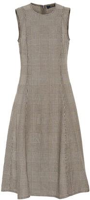 Polo Ralph Lauren Checked cotton and linen dress