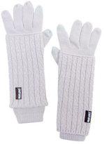 Muk Luks Women's Textured 3-in-1 Gloves