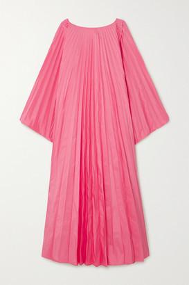 Roksanda Oleria Pleated Taffeta Gown - Pink