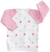 Aden Anais aden + anais Long Sleeve Reglan Shirt (Infant)