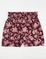 Hip Smock Floral Girls Shorts