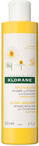 Klorane Vinegar Shine Rinse with Chamomile.