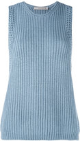 Vince ribbed-knit top - women - Cotton - XS