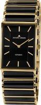 Jacques Lemans York 1-1651D Ladies Ceramic Bracelet Watch