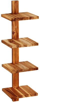 Design Ideas Takara Small Wooden Column Shelf
