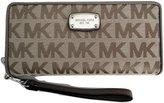 Michael Kors Jet Set Travel Continental Travel Wallet / Wristlet Jacquard