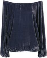 Mes Demoiselles velvet Gianni blouse
