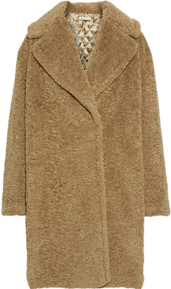 Alice + Olivia Charlie Oversized Faux Shearling Coat
