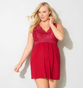 Avenue Red Lace Chemise
