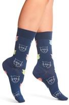Happy Socks Women's Cat Crew Socks