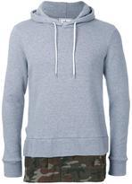 Miharayasuhiro layered detail hoodie - men - Cotton - 44