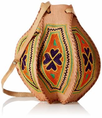 Wild Hazel Leather Multi-Color Gypsy Bag For Women's