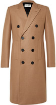 Saint Laurent - Double-breasted Camel Hair-blend Coat