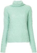 Sies Marjan fuzzy knit turtleneck jumper