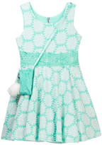 Beautees Daisy Dress with Accessory Bag (Big Girls)