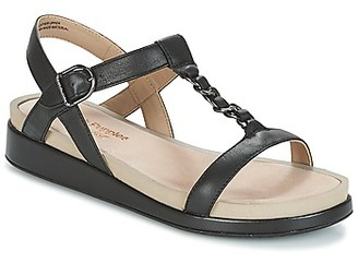 Hush Puppies CHAIN T women's Sandals in Black