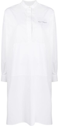 MM6 MAISON MARGIELA Logo Print Shirt Dress
