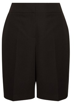 Dorothy Perkins Womens Black Tailored Shorts, Black