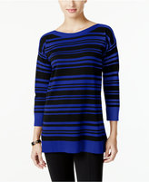Cable & Gauge Striped Sweater, Only at Macy's