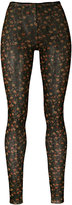 DSQUARED2 floral print leggings