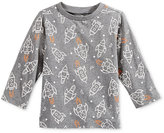 First Impressions Rocket-Print Long-Sleeve T-Shirt, Baby Boys (0-24 months), Only at Macy's