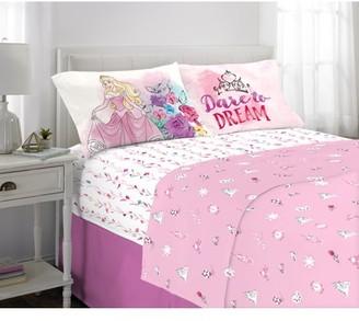 Disney Princesses Bed Sheets Set, Kids Bedding, Sleeping Beauty Aurora