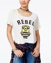 Hybrid Despicable Me Juniors' Minion Rebel Graphic T-Shirt