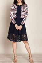 Yumi Floral Stripe Cardigan