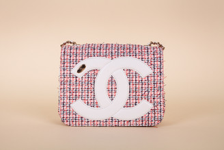 Chanel Tweed Mania Square Flap Bag