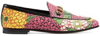 Gucci New Jordaan Floral Loafers