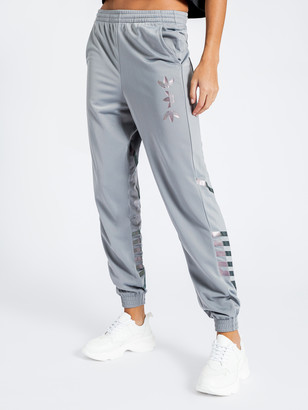 adidas Originals Large Logo Track Pants in Grey