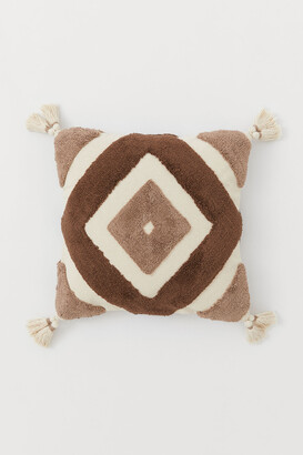 H&M Cushion cover with tassels