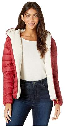 Save The Duck Giga 9 Hoodie Puffer Jacket with Sherpa Lining
